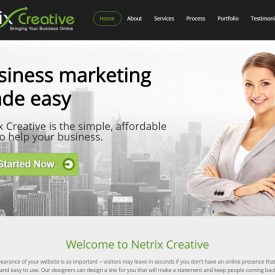 Netrix Creative Home - Desktop