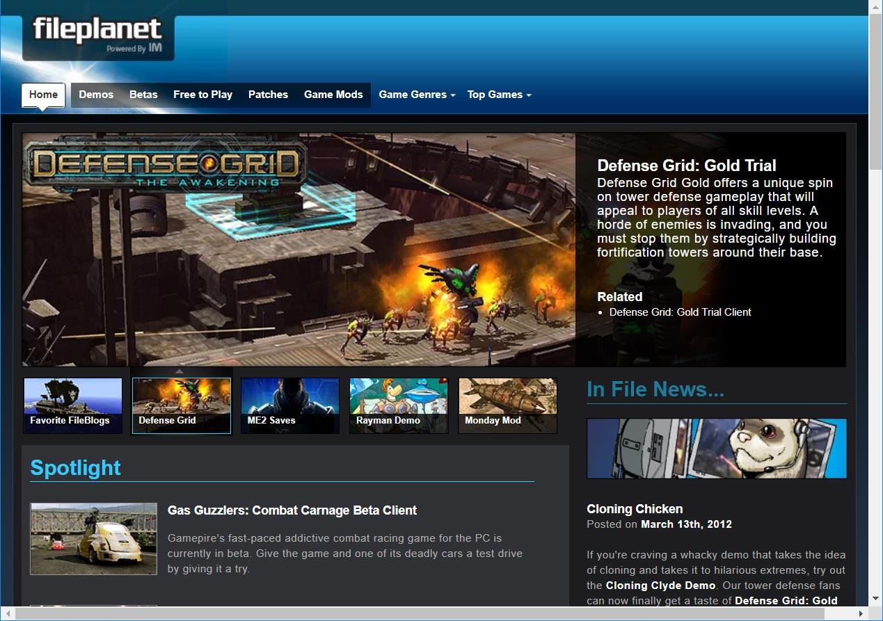 FilePlanet File Blog